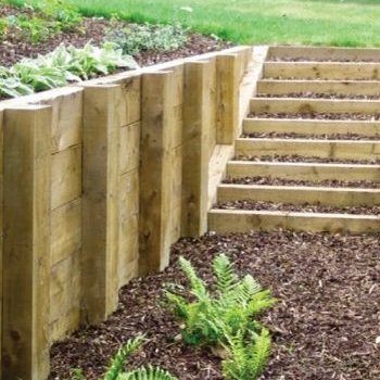 Treated Pine Sleepers Building And Garden Supplies Ferntree Gully