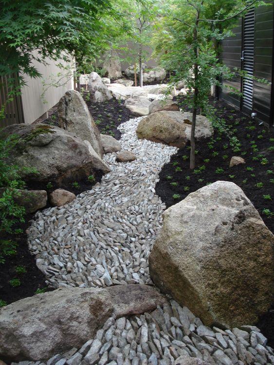 Rocks Highlighting A Path