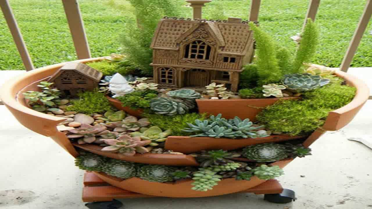 Succulent Terrarium Garden Pot