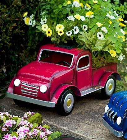 Toy Truck Garden Pot