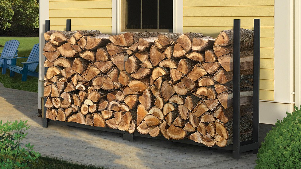 This Would Be Good But The Firewood Is Stored Next To A Wooden Wall