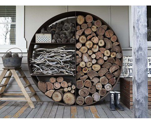 Good Outdoor Wood Storage