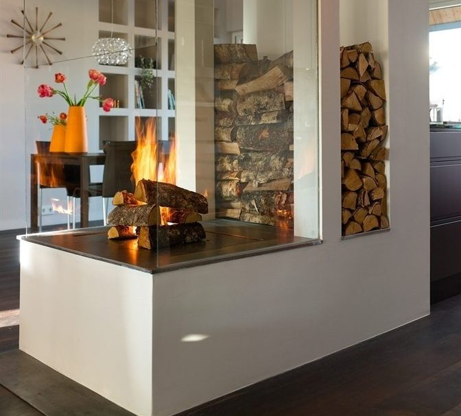 Storing Firewood Inside Home