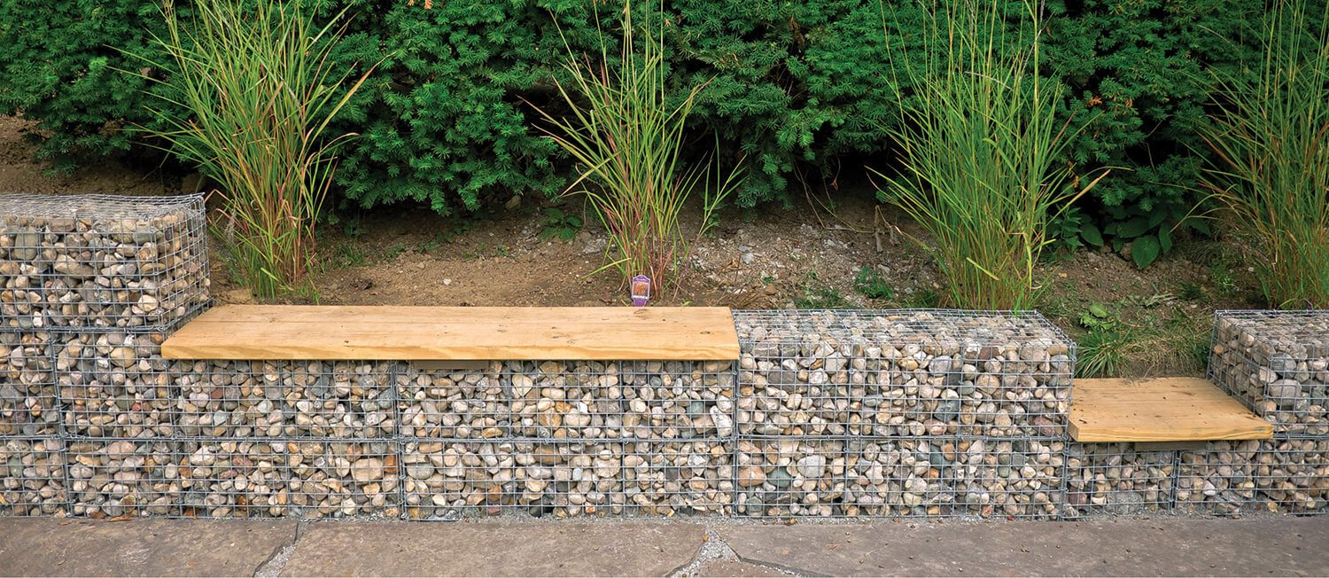 ferntree-gully-garden-features-inspiration-retaining-wall-gabion-baskets-outdoor-seating