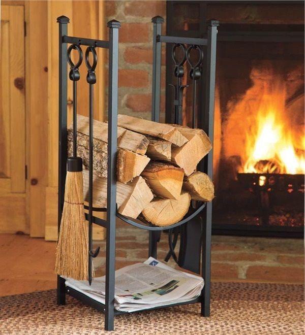 Good Indoor Firewood Storage