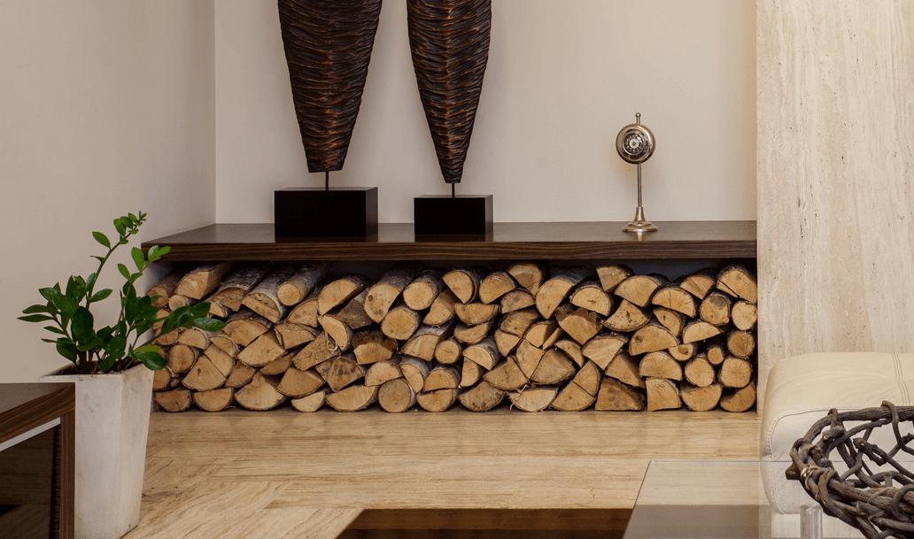 Storing Firewood Inside