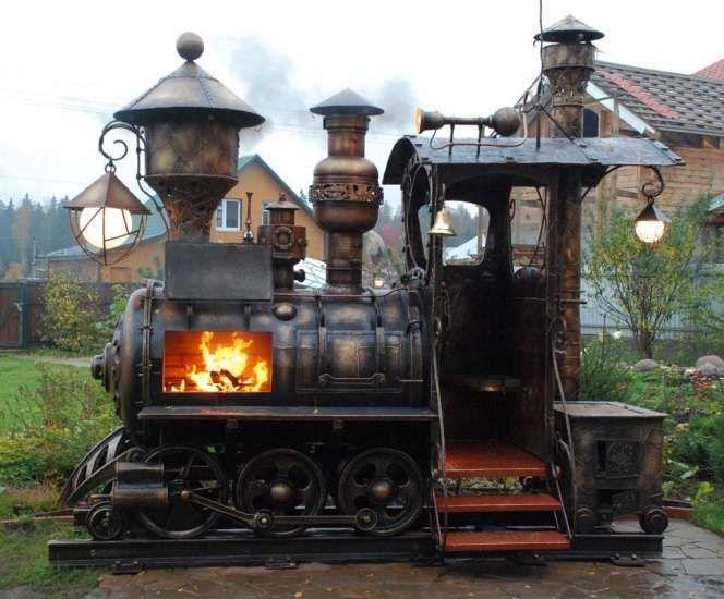 Train Firepit
