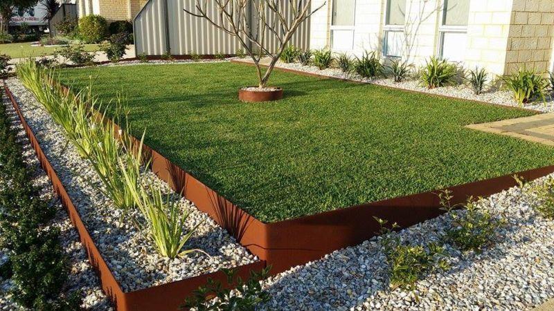 Edging A Garden