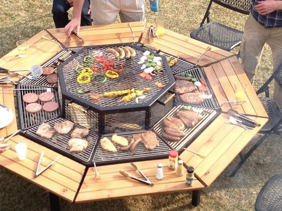 Luxury Cooking Firepit 1