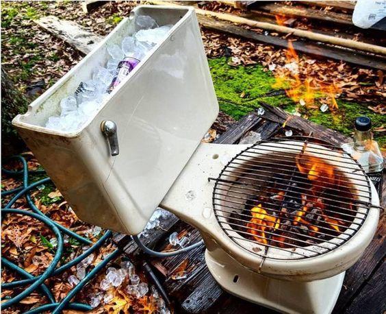Toilet Firepit