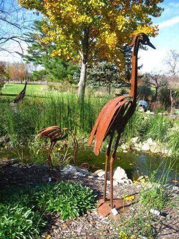 Emu Steel Standing Art