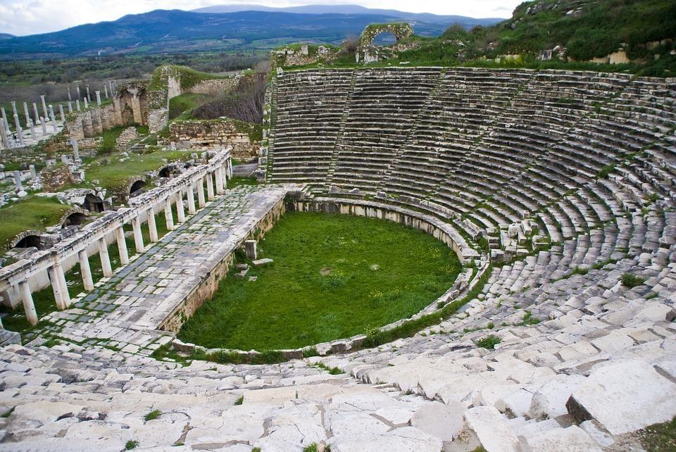 Amphitheater Built Into Hill