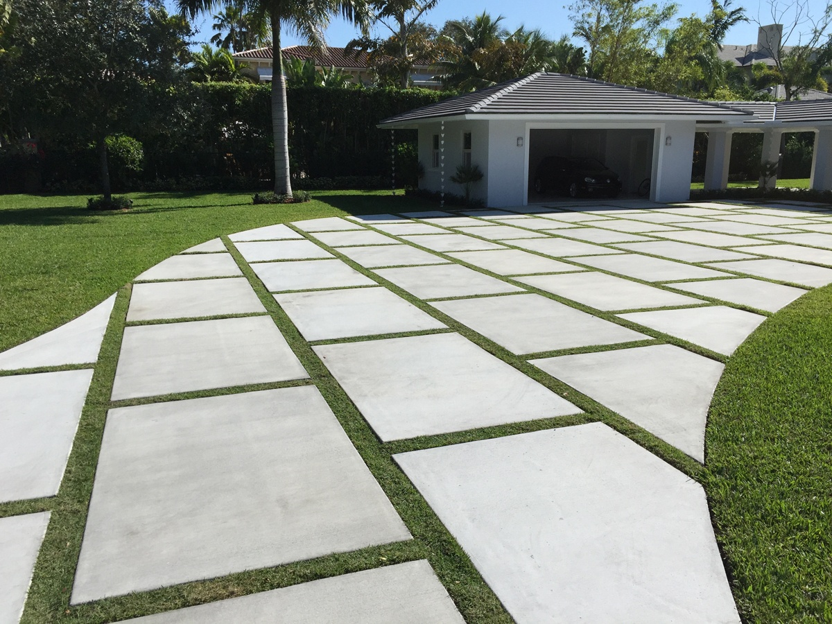 Concrete Pavers For Driveway