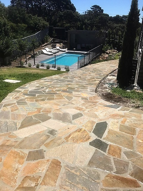 Sandstone Pavers For Driveway