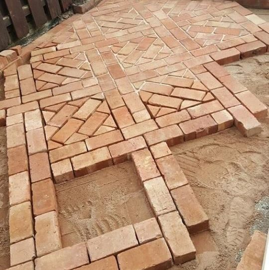 New Brick Square Pattern