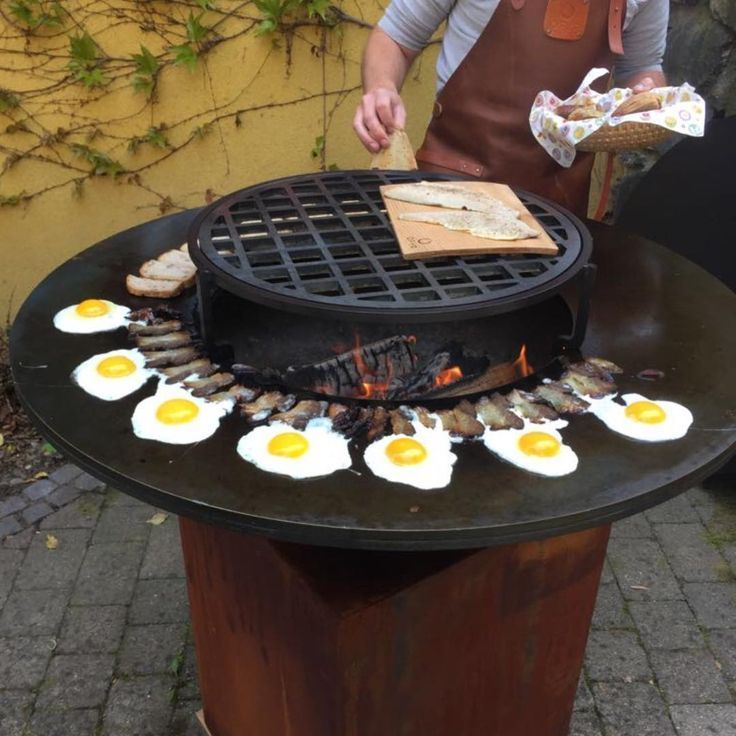 Circular Cooking Firepit