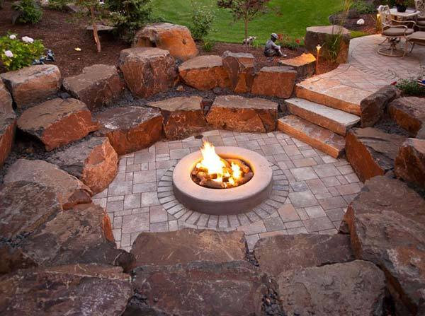 Amphitheater Firepit