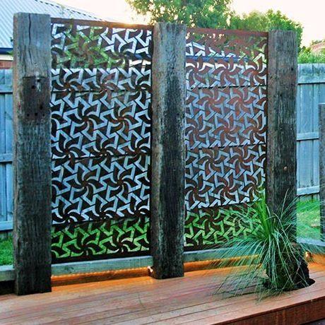 Manna Gum Building & Garden Supplies Ferntree Gully Steel Privacy Screens