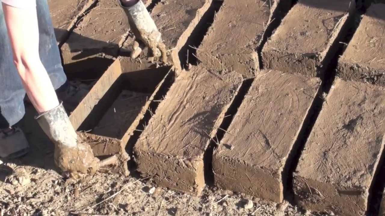 Sun Dried Mud Bricks