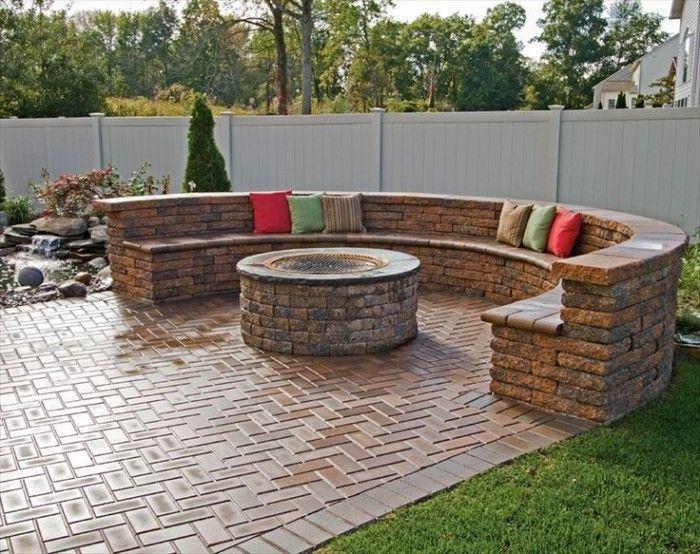 New Brick Patio