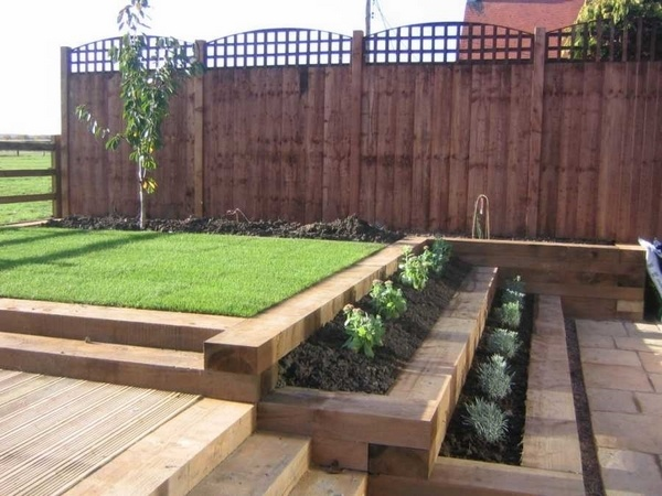 Using Sleepers In Your Garden