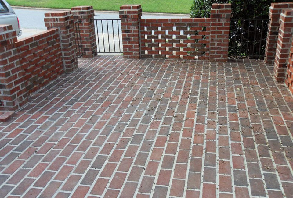 Running Bond Brick Pattern Entry