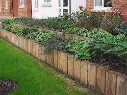 Double Upright Garden Bed With Sleepers