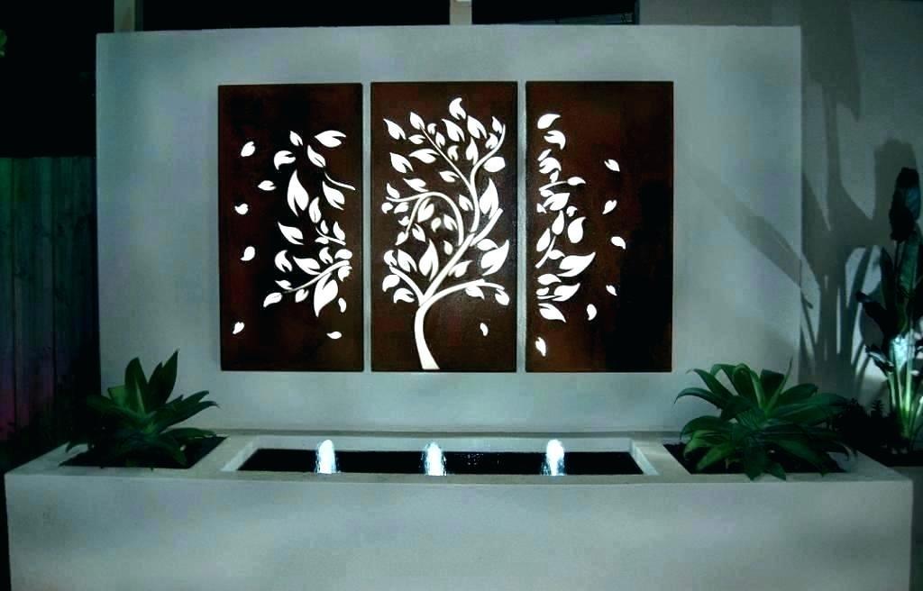 Steel Wall Art For Gardens