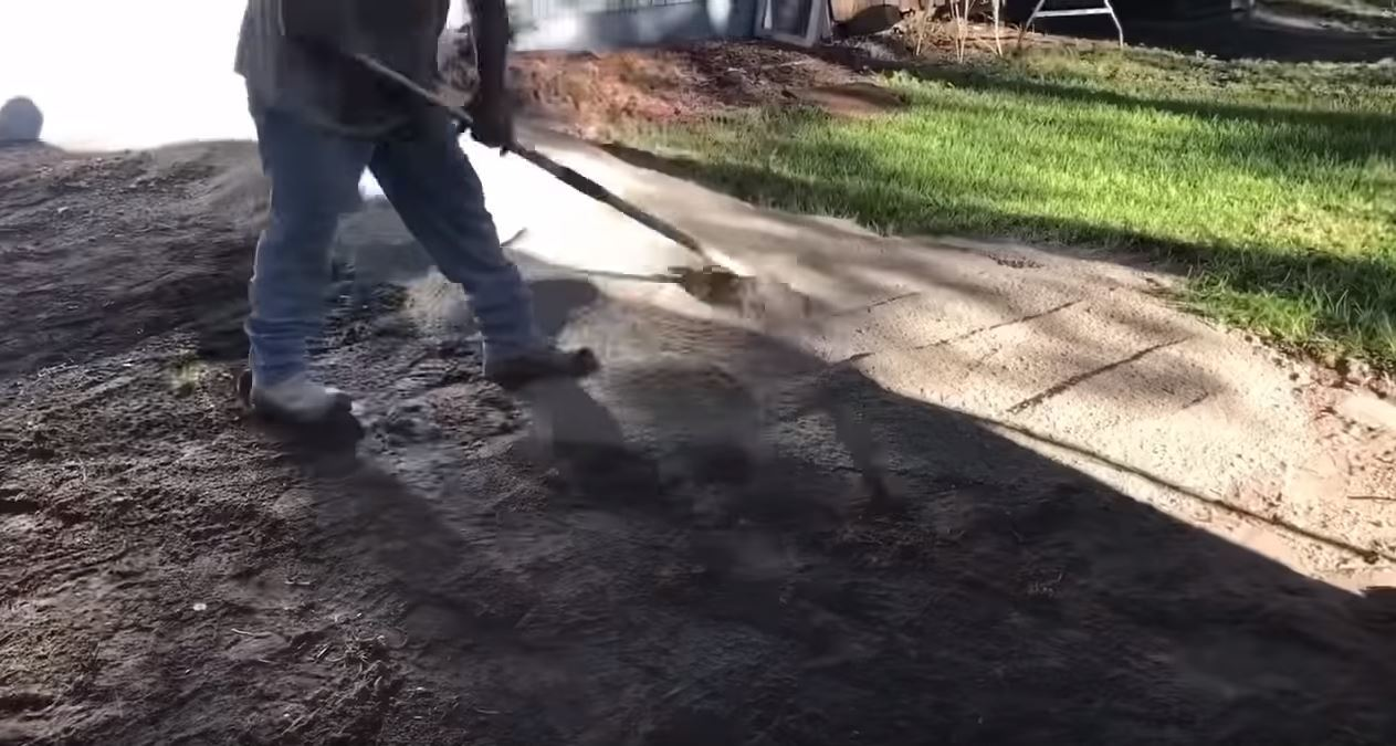 Laying The Paver Base Out