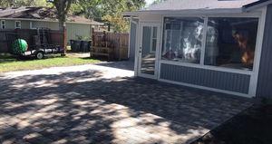 Finished Courtyard