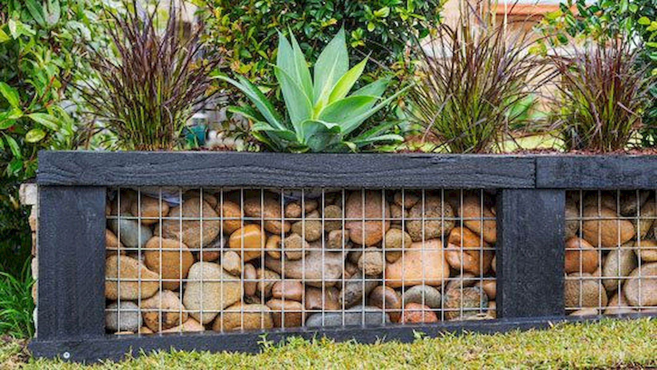 Gabion Wall Decoration